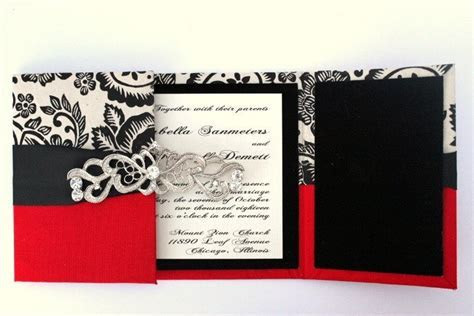 Wedding Invitations Old Hollywood GLAM. $19.50, via Etsy