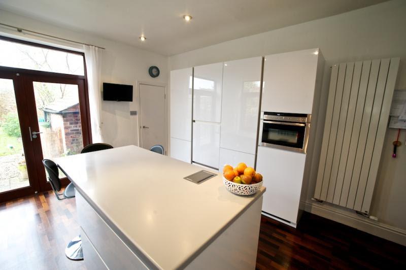 Gloss Lacquer Handleless Kitchen - Lytham | Keller Design ...