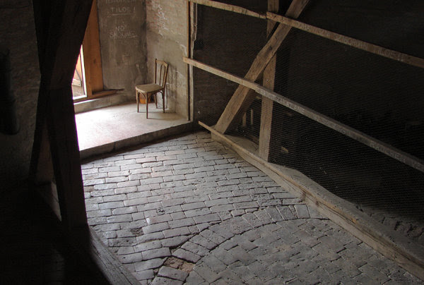 bell's room 1: towards the bell's room, Esztergom Cathedral
