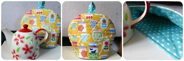 Teapot cosy - Fabric Yard sample