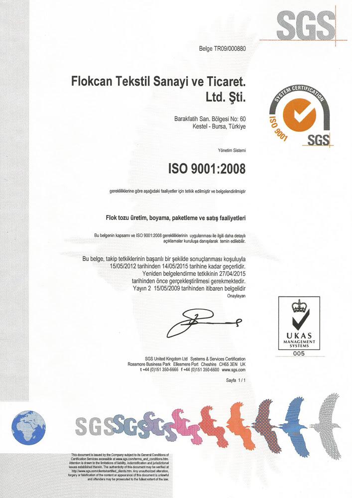 Quality Management Flokcan Tekstilflokcan Tekstil