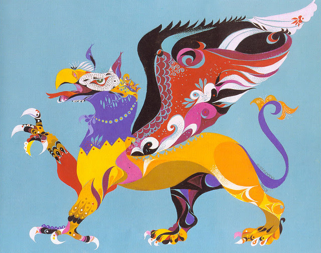 Erni Cabat (Magical World Of Monsters 1992) Griffin