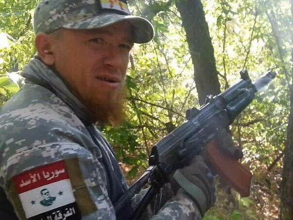 One of the Russians seen fighting in Syria is a well-known militia leader from the Ukraine conflict nicknamed 'Motorola'
