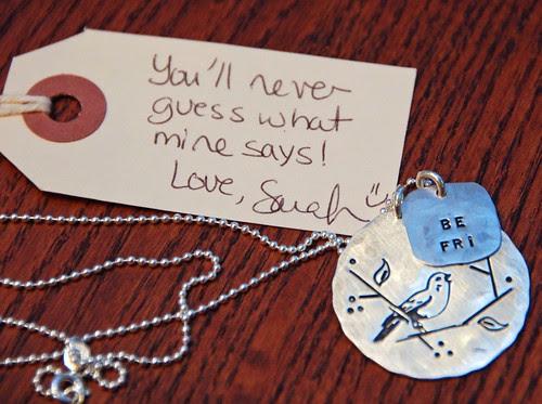 Be Fri necklace!