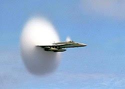 FA-18 Hornet breaking sound barrier (7 July 1999).jpg