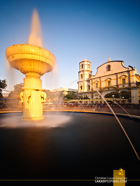 Sunrise at the Roxas City Capiz Cathedral