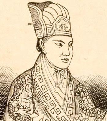 Ο Χονγκ Ξιουκουάν σε αναπαράσταση της εποχής, χρονολογείται περίπου στο 1860