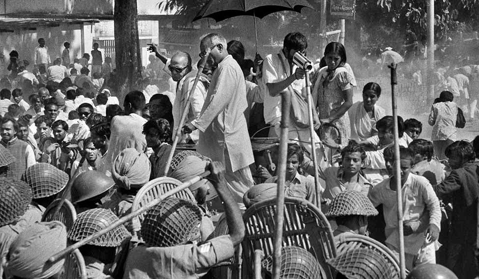 A few days before the Emergency was declared, Jayaprakash Narayan led an anti-government rally in Patna. He was arrested after the rally | Raghu Rai | The Week