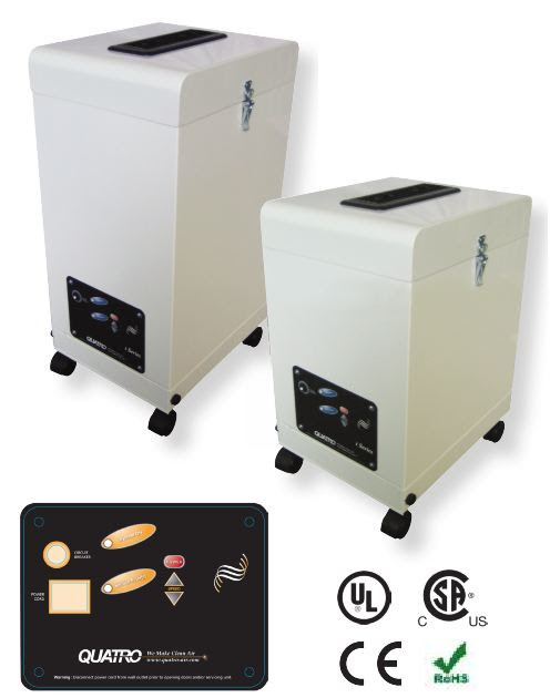 Multi-Purpose Air Purifiers, Air Filtration Systems, Fume Extractors ...