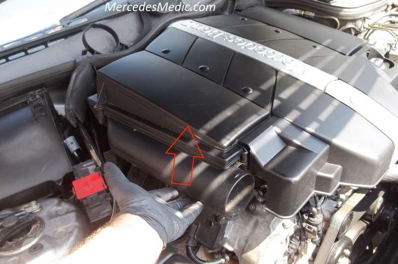 How To Replace Mass Air Flow Maf Sensor Mercedes Benz V6 V8 Mb Medic