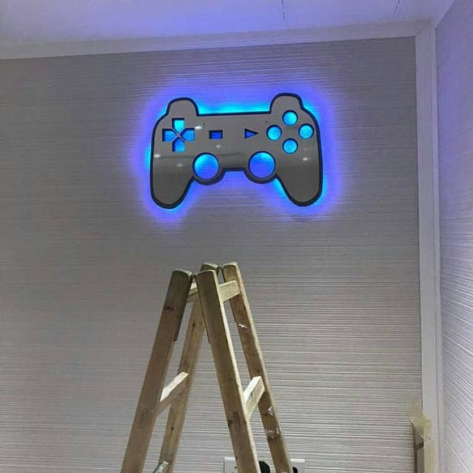 Video Game Wall Lights