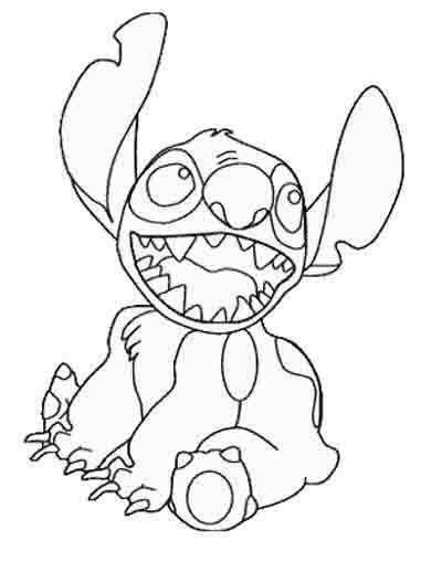 Dibujos Para Colorear Disney Lilo Y Stitch