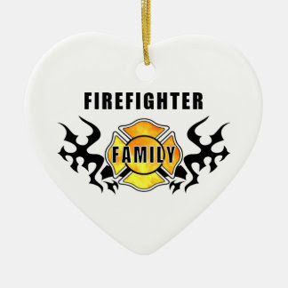 Firefighter Christmas Ornaments Personalized