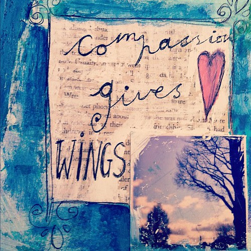 Compassion gives wings