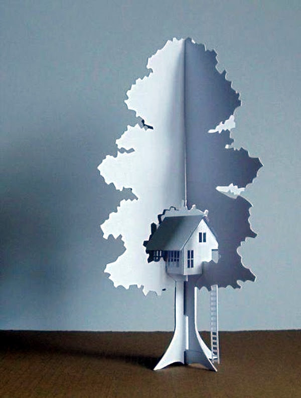 Extremely Creative Examples of Kirigami Art A Hobby to Addapt (27)