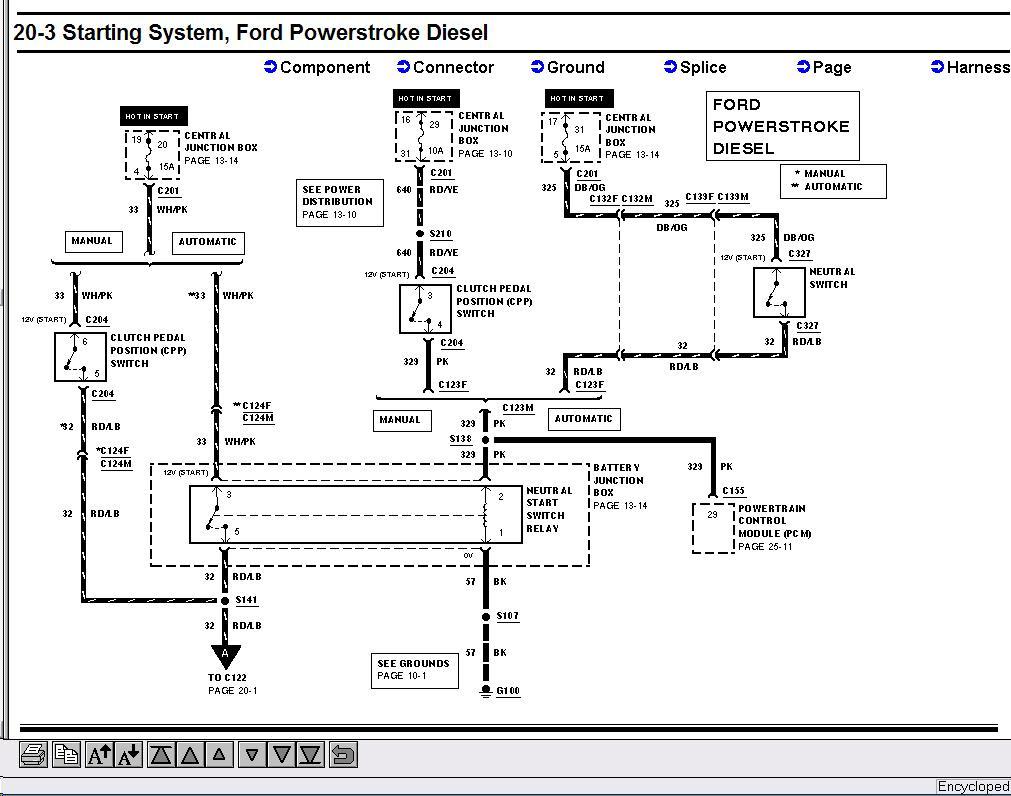2004 E450 Fuse Diagram