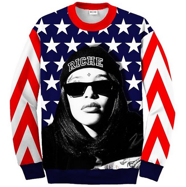 revolution riche aaliyah sweatshirt