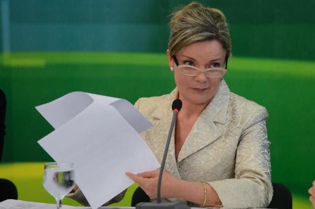 Ex-diretor da Petrobras diz que senadora Gleisi Hoffmann recebeu R$ 1 milhão Fabio Rodrigues Pozzebom/ABr