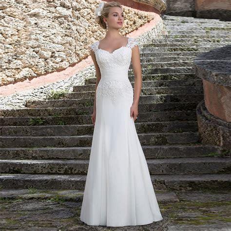 Simple Wedding Dresses No Train Wedding Dresses dressesss