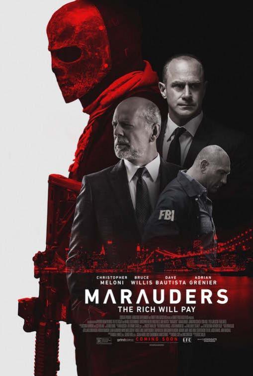NosVamosAlCine, cartelera, película, cine, Los Conspiradores, Marauders, bruce willis, blog de cine, solo yo, blog solo yo,