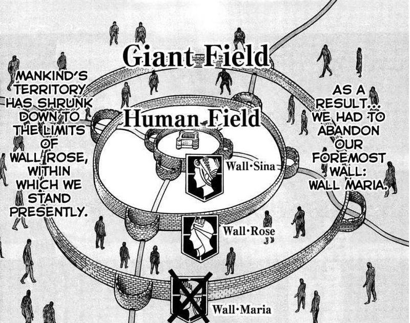 Attack On Titan Map Of Walls - Maps Location Catalog Online