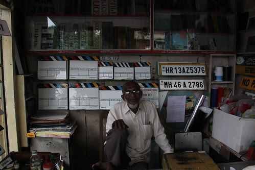 The Famous Bollywood Clap Board Maker Of Bandra SV Road by firoze shakir photographerno1