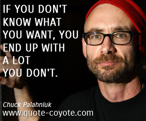 Chuck Palahniuk Quotes Quote Coyote