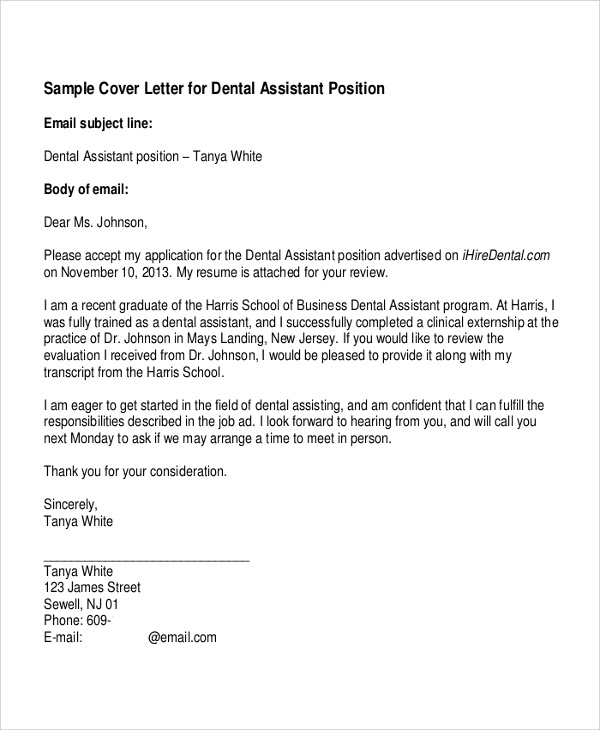 7 Best Cover Letter Examples Sample Templates
