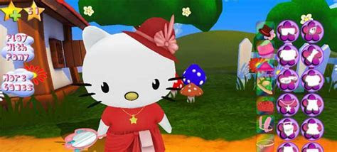 Hello Kitty. Dress Up 3D. » Android Games 365   Free