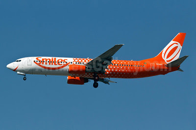 Gol Transportes Aereos Boeing 737-809 PR-GIT (msn 28403) (Smiles) GRU (Rodrigo Cozzato). Image: 909085.