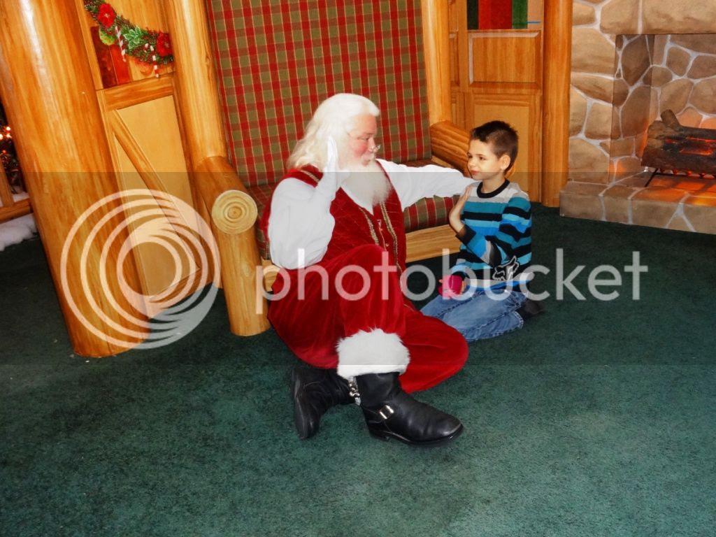 Simon Malls Caring Santa