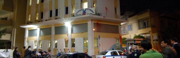 Χειροβομβίδα και ελεγχόμενες εκρήξεις στο Αστυνομικό Τμήμα της Δάφνης!