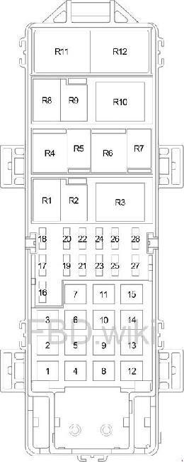 99 04 Jeep Grand Cherokee Wj Fuse Box Diagram