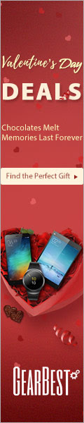"Use the 8% OFF coupon ""GBvalentine"", Grab the Best Valentine's Day Gifts Best Deals from Just $25 @GearBest! Ends: 1/23/2017."