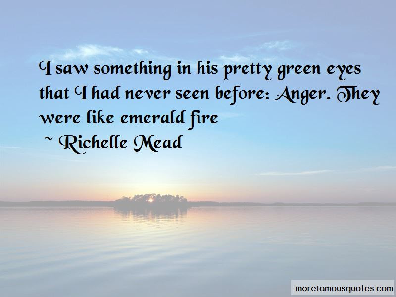 Pretty Green Eyes Quotes Top 16 Quotes About Pretty Green Eyes From