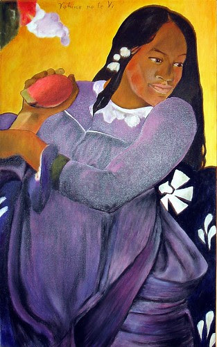 拿芒果的女人 Vahine no te vi (Woman with a Mango)
