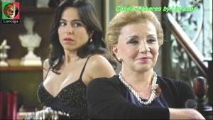 Cassia Linhares sensual na novela Rebelde