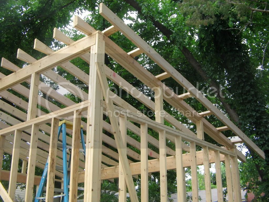 Sheds Ottors Plans To Build A Slanted Roof Shed