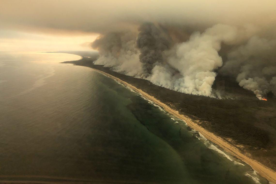 Incêndio na Austrália Reuters Divulgação