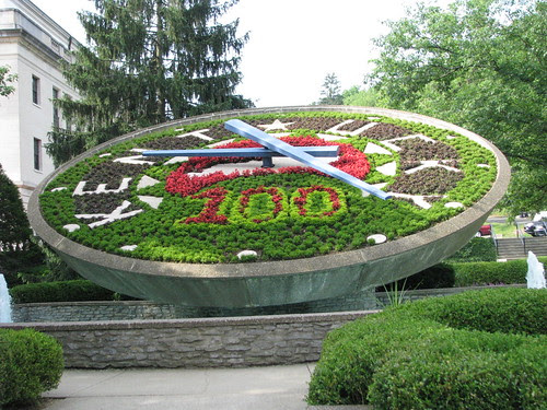 Floral Clock, Frankfort