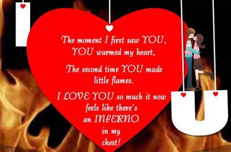 The Moment I First Saw You  Free Madly in Love eCards