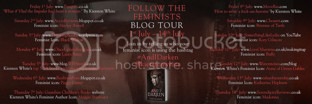 And I Darken by Kiersten White Follow the Feminists Blog Tour