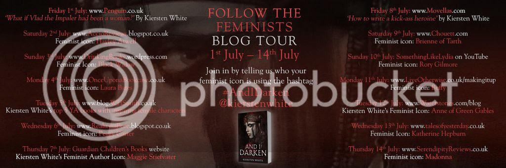 And I Darken by Kiersten White Follow the Feminists Blog Tour