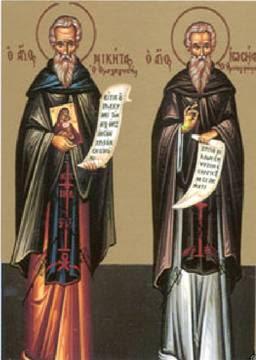Saint Nicétas de Medikion († 824)