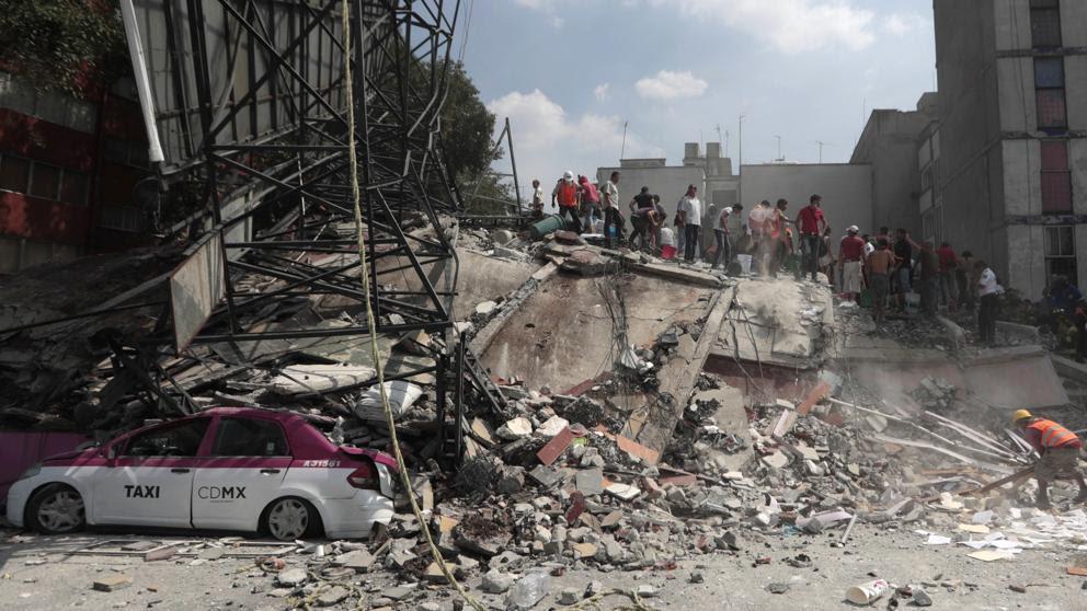 Exteriores eleva a 20 la cifra de españoles desaparecidos en el terremoto de México