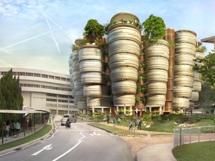 Πανεπιστήμιο σχεδιάζεται να θυμίζει… κυψέλες μελισσών!