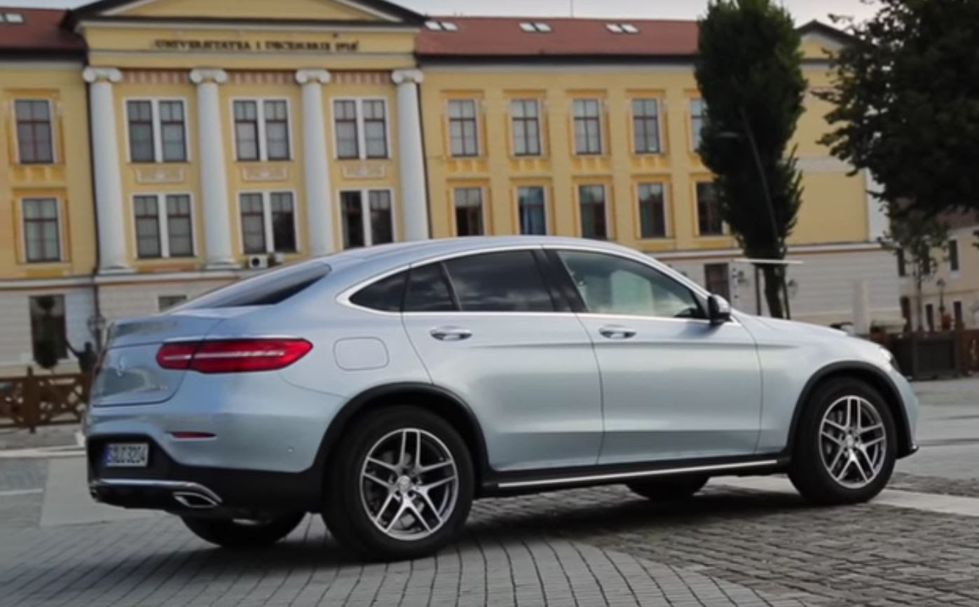 2017 Mercedes GLC 300 Coupe Sounds Like a Golf GTI Thanks ...