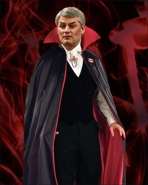 Stephen Harper, Prince of Darkness