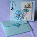 Romantic blue + envelope