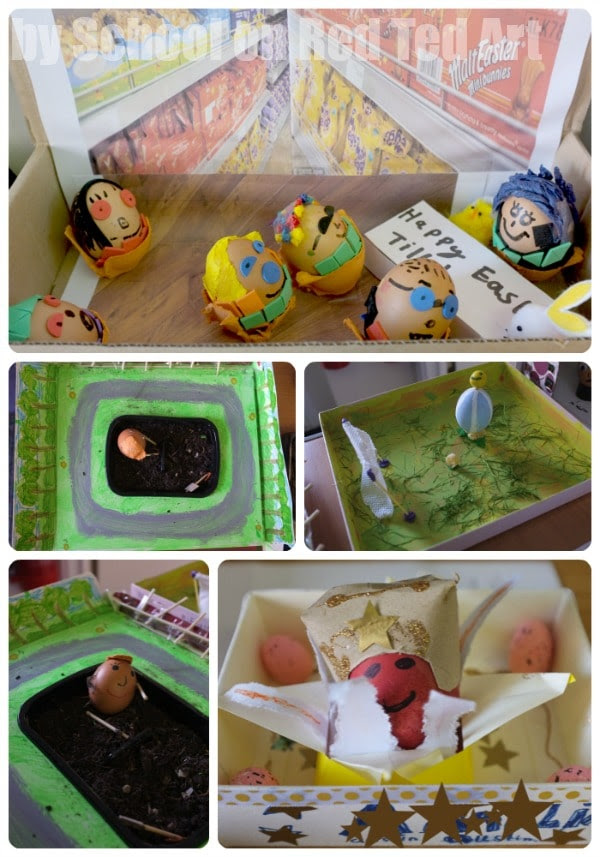 35 Great School Egg Decorating Competition Entries Wild Futterautomat